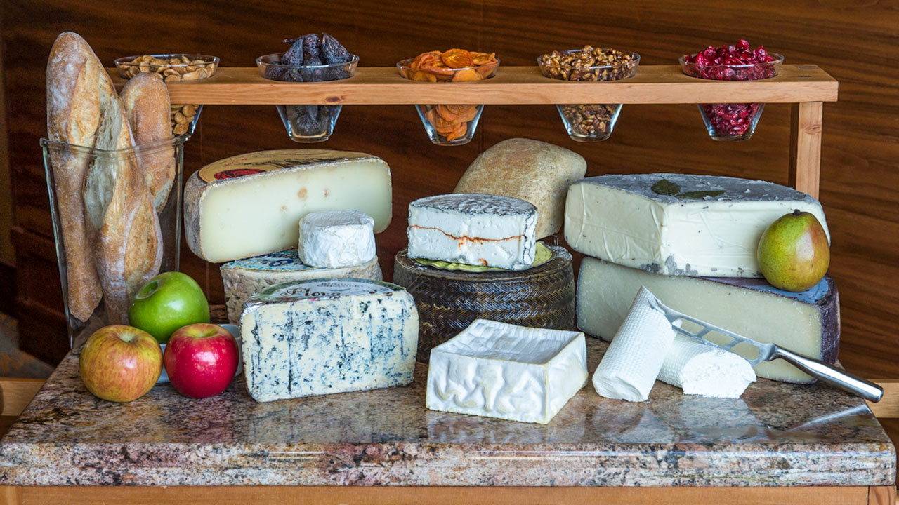 A seasonally-inspired selection of artisanal cheeses