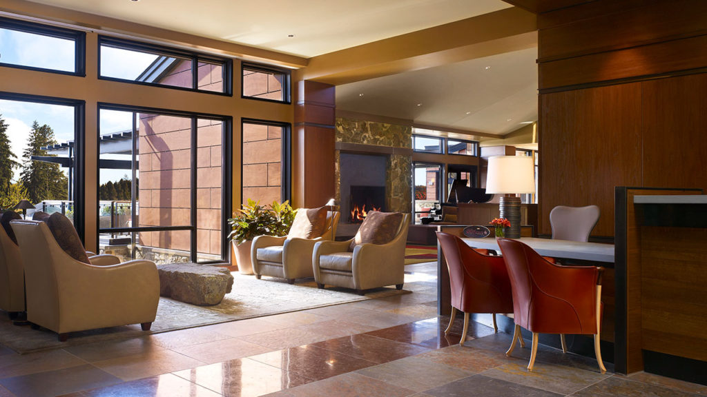 Allison Inn and Spa Lobby