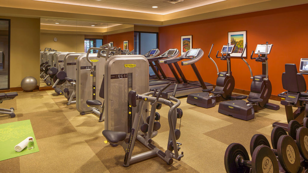 The Gym at The Allison Spa