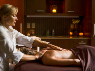 A Massage At The Allison Spa