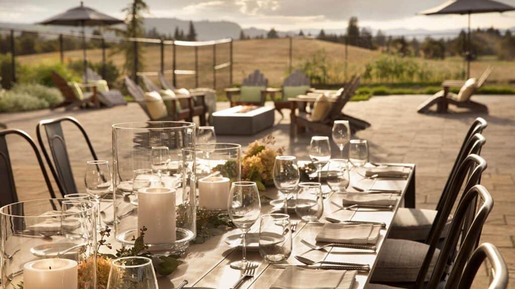 Chef's Garden Patio - Dinner Event