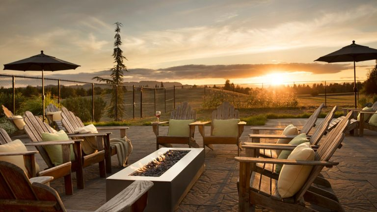 Chef's Gardeen Patio - Fire Pit Lounge Seating