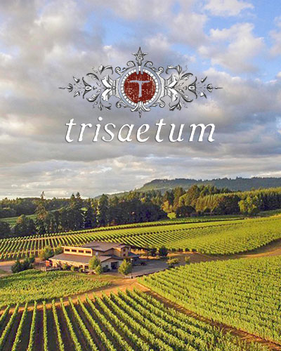 Trisaetum Winery - Newberg, Oregon